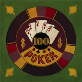 Hundred Dollar Poker Chip