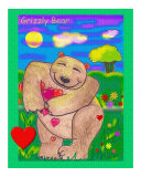 The Big Hearted Grizzly Bear
