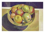 Brass Bowl and Fruit