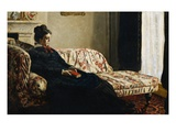 Meditation: Madame Monet on a Couch