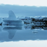 Iceberg Shaped Like a Whale Fin