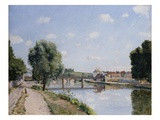 The Railroad Bridge  Pontoise