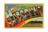 Greeting Card from Missoula  Montana