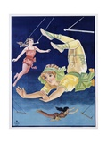 Poster of Stock Trapeze Artists