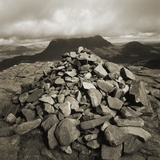 Pile of Rocks at Summit of Stac Pollaidh