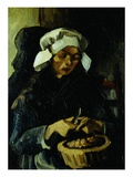 Peasant of Neuen  Peeling Potatoes