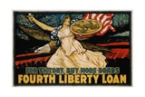 For Victory  Buy More Bonds - Fourth Liberty Loan Poster