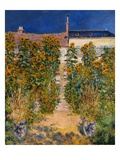 The Artist&#39;s Garden at Vetheuil