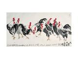 Auspicious Chickens