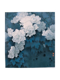Flowers and Moon Giclée par Minrong Wu