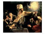 Belshazzar's Feast circa 1636-38