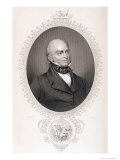 "John Quincy Adams (1767-1848) from ""The History of the United States "" Vol II  by Charles Mackay"