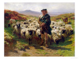 The Highland Shepherd  1859