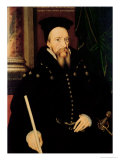 Portrait of William Cecil  1st Baron Burghley (1520-98) Lord High Treasurer