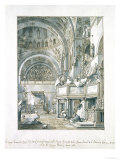 The Choir Singing in St Mark's Basilica  Venice  1766