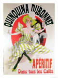 Poster Advertising &quot;Quinquina Dubonnet&quot; Aperitif  1895