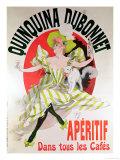 "Poster Advertising ""Quinquina Dubonnet"" Aperitif  1895"