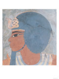 Head of Amenophis III from the Tomb of Onsou  18th Dynasty  1550-1295 BC (Mural)