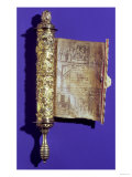 Megillah (Scroll of Esther) in a Silver Case  Vienna  circa 1715