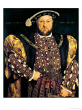 Portrait of Henry VIII (1491-1547) Aged 49  1540