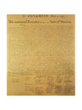 Declaration of Independence of the 13 United States of America of 1776  1823 (Copper Engraving)