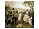 John  the 4th Duke of Atholl and His Family  1780