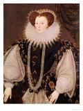 Portrait of Elizabeth Sydenham  Lady Drake  circa 1585