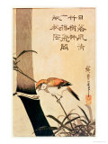 Bird and Bamboo  circa 1830