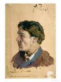 Portrait of Anton Chekhov (1860-1904)