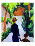 Mother and Child in the Park  1914