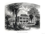 Planter&#39;s House on the Mississippi  Engraved by JH Ellawell