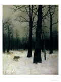 Wood in Winter  1885