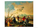 Dance on the Banks of the River Manzanares  1777