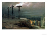 Night at Golgotha  1869