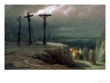 Night at Golgotha  1869