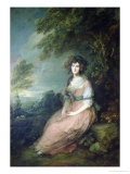 Mrs Richard Brinsley Sheridan  circa 1785-6