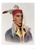 "Shin-Ga-Ba W""Ossin or ""Image Stone "" a Chippeway Chief"