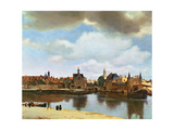 View of Delft  circa 1660-61