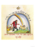 "Illustration for ""Chad Gadya"" (The Goat Kid) from the ""Haggadah "" 1917"