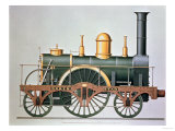 "Stephenson's ""North Star"" Steam Engine  1837"
