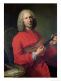 Jean-Philippe Rameau (1683-1764) with a Violin