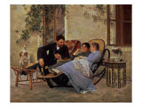 After Dinner  1888