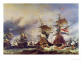 The Battle of Texel  21st August 1673