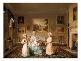 Mrs Congreve and Her Children in Their London Drawing Room  1782
