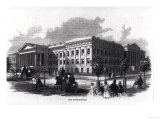 "The Patent Office  from ""Harper's New Monthly Magazine "" 1859"