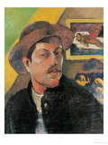 Self Portrait in a Hat  1893-94