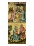 The Annunciation and the Flight into Egypt  from the Buxtehude Altar  1400-10