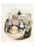 "Mr Fezziwig's Ball  from ""A Christmas Carol"" by Charles Dickens (1812-70) 1843"