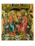 The Crowning of the Virgin  from the Right Wing of the Buxtehude Altar  1400-10