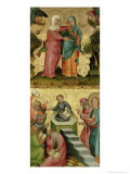 The Visitation and the Dispute with Doctors  from the Buxtehude Altar  1400-10